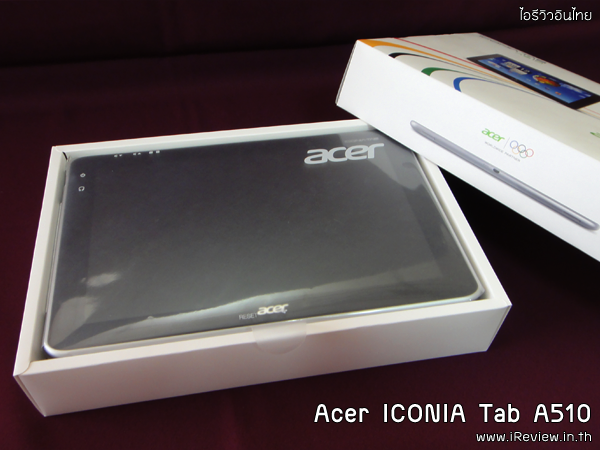 Acer ICONIA Tab A510-27