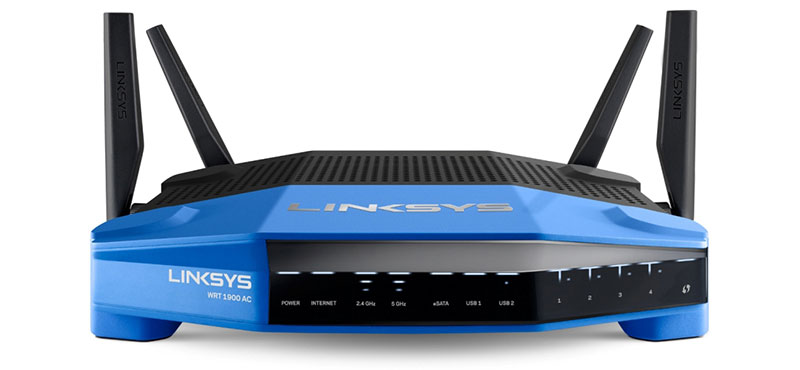 Linksys-WRT1900AC-Router-Front-Final