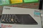 """รีวิว – Rapoo E6700 """"คีย์บอร์ด Bluetooth พร้อม Touchpad"""""""