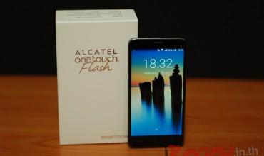"""รีวิว – Alcatel Onetouch Flash """"Phablet 8คอร์ จอ IPS ราคาย่อมเยา"""""""