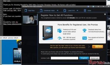 [Free] WonderFOX DVD Video Converter มาแปลงไฟล์ Video ให้ Smart Phone รุ่นใหม่ล่าสุดกันเถอะ