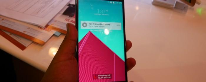 พรีวิว – LG G4 มุมมองการนับก้าวใหม่ๆ จาก LG