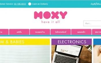 รีวิว – MOXY ซื้อของออนไลน์ง่ายนิดเดียว