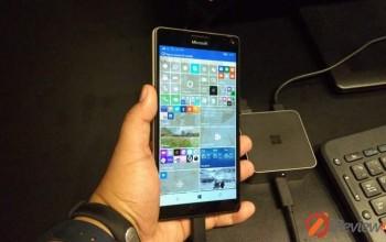 Event – ลองจับตัวเป็น ๆ กับ Microsoft Lumia 550 , 950 , 950XL จากงานเปิดตัว