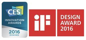 รางวัล CES Innovation Award และ iF Design Award ประจำปี 2016