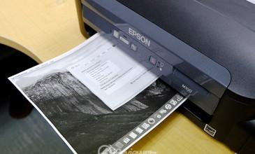 """รีวิว – Epson M100 """"พริ้นเตอร์แท๊งค์แท้ ขาวดำคุ้มกว่าเลเซอร์"""""""