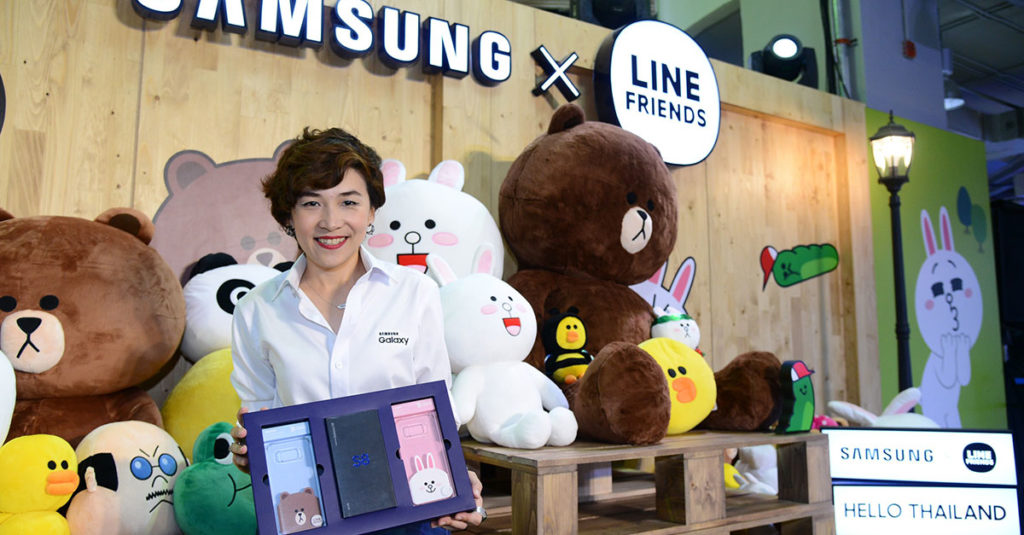 Samsung Galaxy x LINE FRIENDS_TH (1)